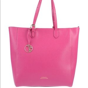 Versace Collection Large Leather Tote